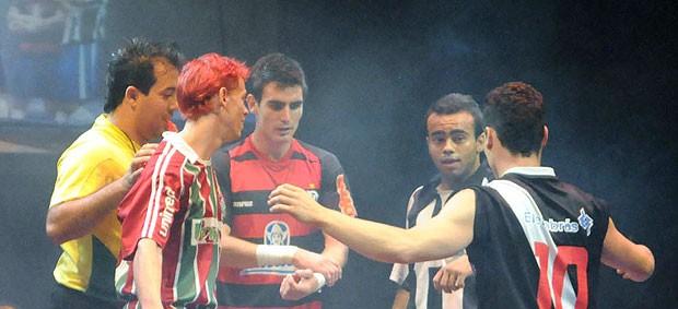 circo com os clubes cariocas Marcos Frota EE de Bolsa (Foto: André Durão / GLOBOESPORTE.COM)