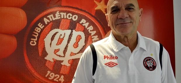 Riva Carli, preparador do Atlético-PR (Foto: Divulgação/Atlético-PR)