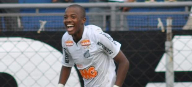 Victor Andrade santos x guarani copa são paulo (Foto: Agência Estado)