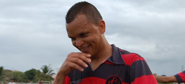 Warley, atacante do Campinense (Foto: Cadu Vieira)