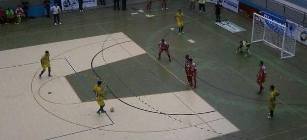 Japaratuba surpreende Aracaju na estreia da Copa TV Sergipe de Futsal (Foto: João Áquila/GLOBOESPORTE.COM/SE)