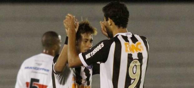 neymar botafogo-sp x santos (Foto: Bê Caviquioli/Futura Press)
