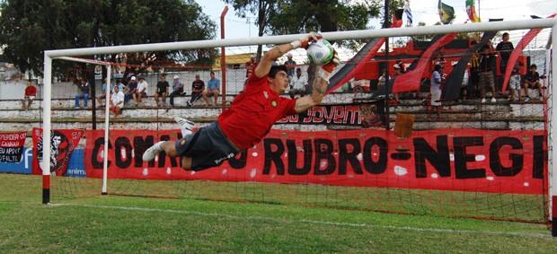 yai goleiro 14 de julho livramento baú do esporte rs (Foto: Divulgação)