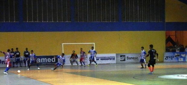 Gararu goleia Aquidabã por 4 a 1 e complica rival no grupo B da CTVSE (Foto: Vieira Neto/Divulgação)