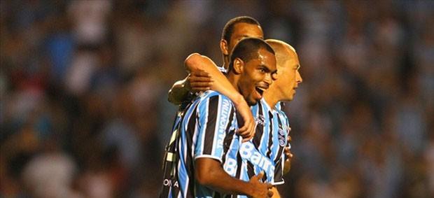 grêmio santa cruz gol naldo gauchão (Foto: Lucas Uebel/Grêmio FBPA)
