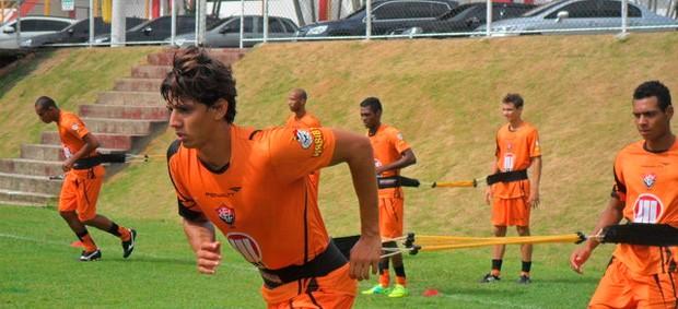 Vitória treino (Foto: Divulgação/ Site oficial)