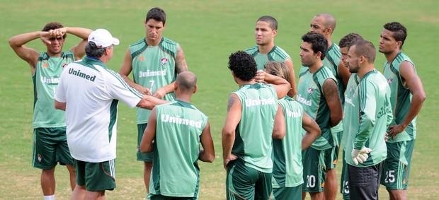 Abel comanda treinamento do Fluminense (Foto: Dhavid Normando/Photocamera)