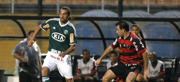 Barcos Palmeiras x Oeste (Foto: LÉO BARRILARI / Ag. Estado)