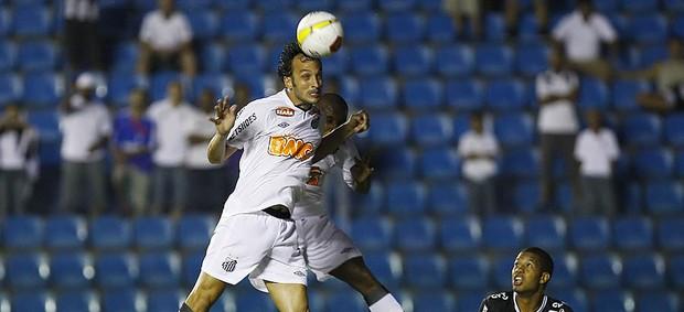 Edu Dracena Santos (Foto: Ricardo Saibun/Divulgação Santos FC)