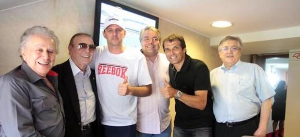 São Paulo FC deseja sorte ao novo presidente da CBF (Foto: Divulgação Site Oficial do São Paulo)