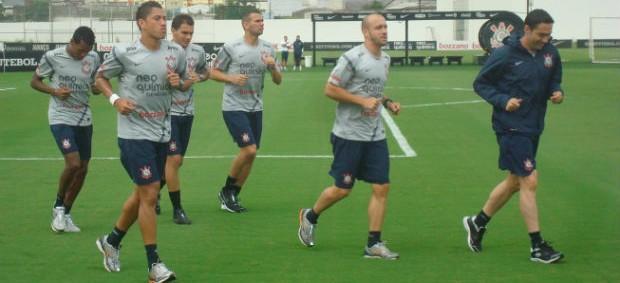 Corinthians grupo (Foto: Rodrigo Faber / globoesporte.com)