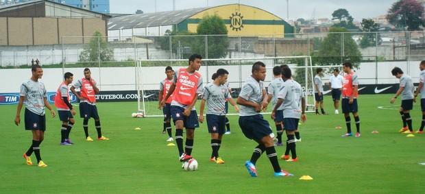 treino corinthians reservas (Foto: Rodrigo Faber/Globoesporte.com)