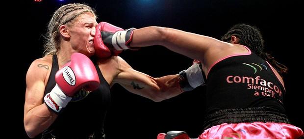 Enis Pacheco vence luta de boxe contra Duda Yankovich (Foto: Reuters)