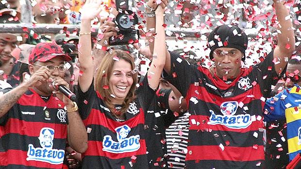 Ronaldinho Apresentação (Foto: VIPCOMM)