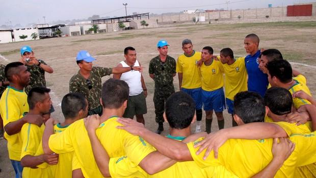 jogo haiti exército brasileiro