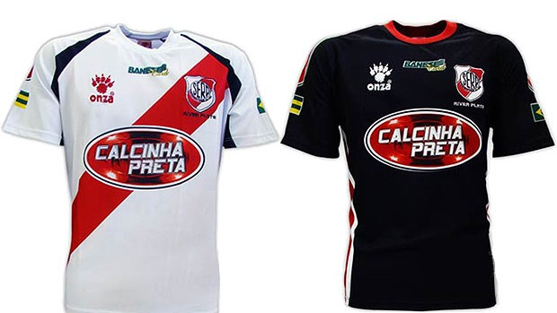camisa River Plate-SE  (Foto: Reprodução)