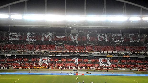 Mosaico Ronaldinho Flamengo