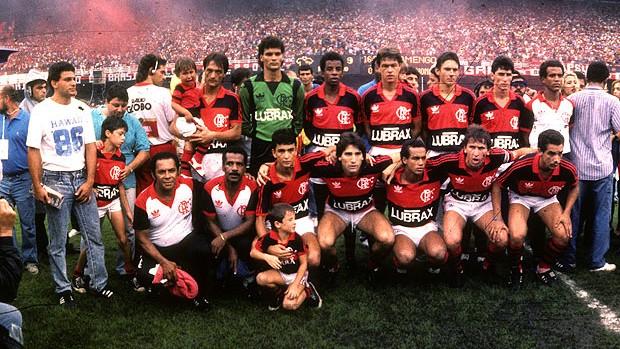 CBF reconhece Fla como campeão em 87 (Sebastião Marinho / Ag. O Globo)
