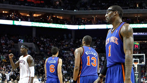 Amare Stoudemire Shelden Williams Landry Fields NBA new york knicks (Foto: AP)