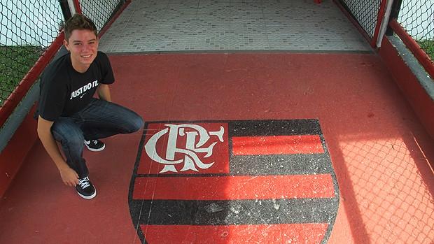 adryan  flamengo (Foto: Richard Souza/Globoesporte.com)