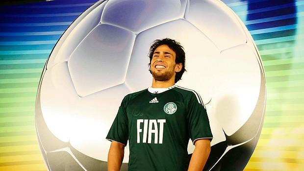 Valdivia Palmeiras Arena Sportv (Foto: Marcos Ribolli / Globoesporte.com)