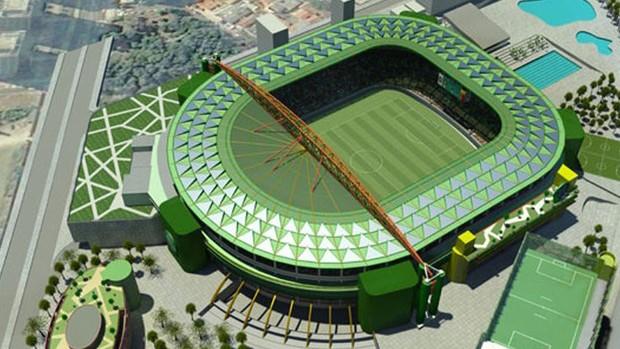 arena palestra - palmeiras (Foto: Tiago Leme / Globoesporte.com)