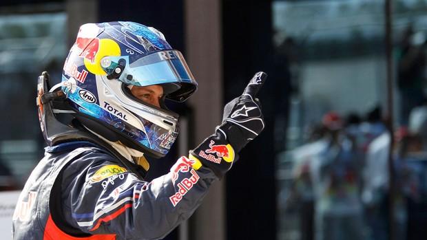 Vettel sobra e vence sua terceira em 2011 (Reuters)