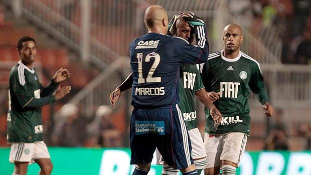 Marcos Assunção gol Palmeiras (Foto: Ag. Estado)