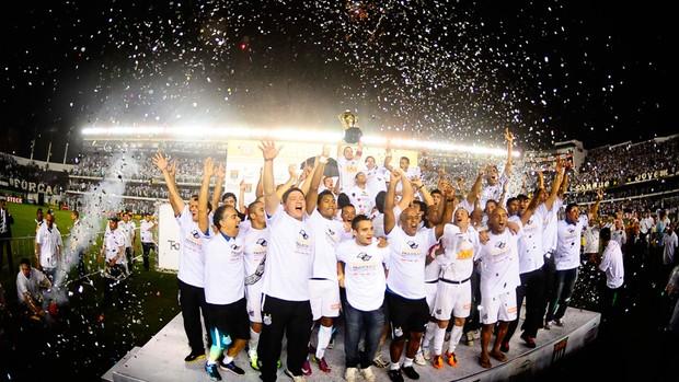 santos campeão paulista (Foto: Agência Estado)