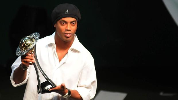 Ronaldinho Prêmio Cariocão 2011 (Foto: André Durão / Globoesporte.com)