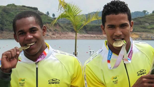 Canoagem Erlon e Ronilson (Foto: Divulgação CBCa)