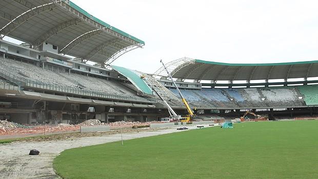 Castelão estádios da copa 2014 (Foto: Canindé Soares)
