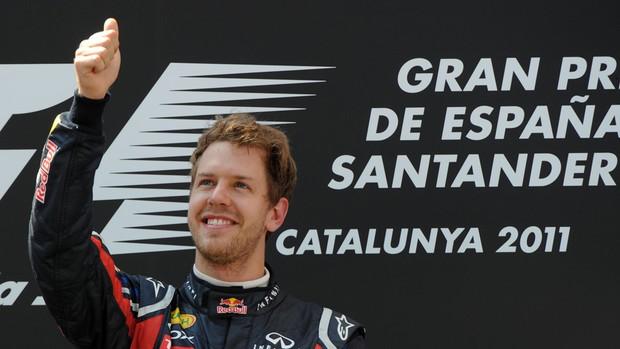 Vettel GP Espanha (Foto: AFP)