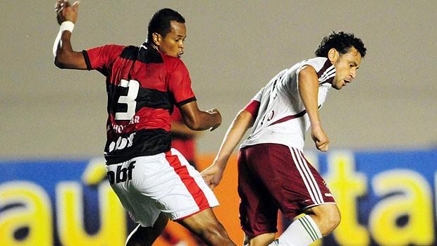 Fred comenta vitória e celebra volta à Seleção (Cristiano Borges / Photocamera)