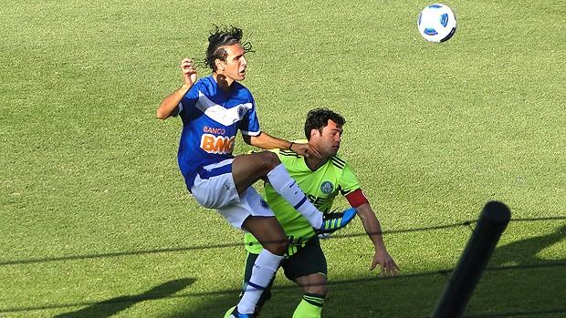 Palmeiras fica no empate com o Cruzeiro : 1 a 1