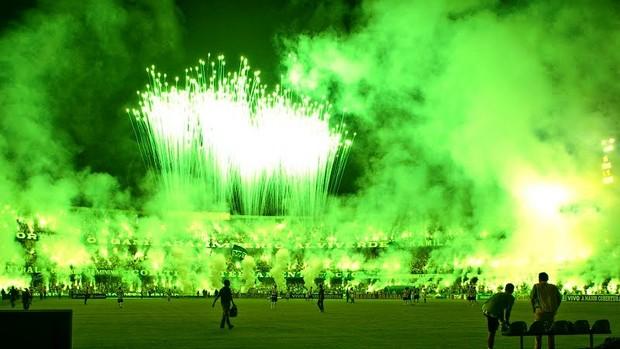 Green Hell da torcida do Coritiba (Foto: divulgação)