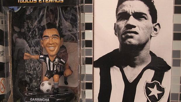 Boneco Garrincha botafogo (Foto: Thiago Fernandes/Globoesporte.com)