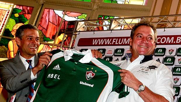 abel braga fluminense apresentação (Foto: Nelson Perez / FluminenseF.C.)