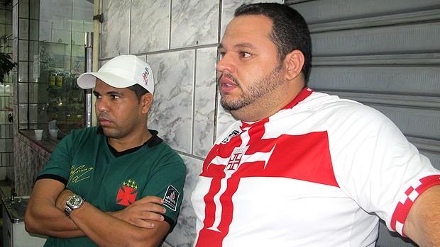 torcida vasco caravana coritiba copa do brasil (Foto: Ivan Raupp / Globoesporte.com)