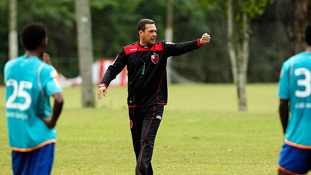vanderlei luxemburgo flamengo (Foto: Jorge William/Globo)
