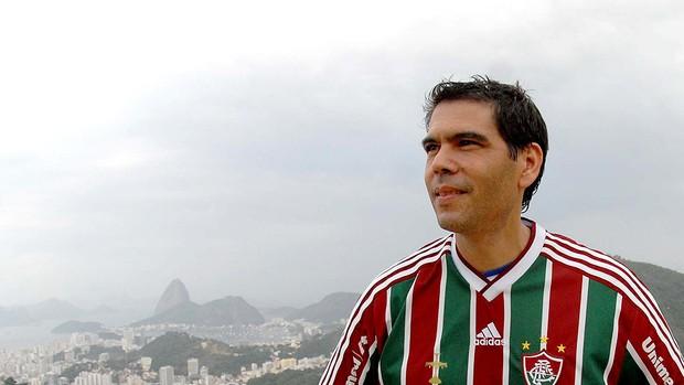 jogo inesquecível Dado villa lobos ex-legião urbana fluminense (Foto: Alexandre Durão / Globoesporte.com)