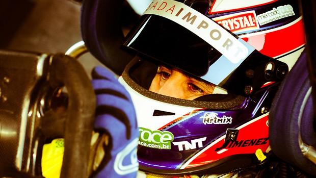 Stock Car: o capacete de Sérgio Jimenez (Foto: José Mário Dias/Divulgação)