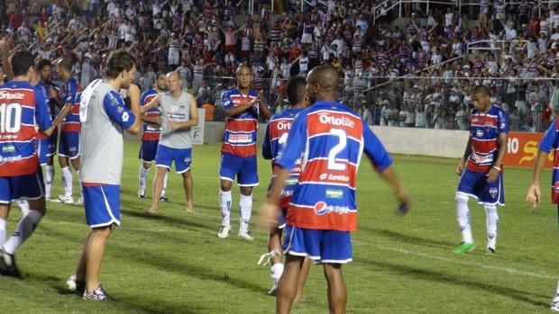 Fortaleza, torcida, amistoso, Trairiense (Foto: Gioras Xerez/ Globoesporte.com)