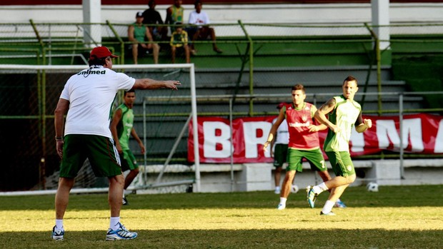 abel braga fluminense treino laranjeiras (Foto: Nelson Perez/FluminenseF.C.)