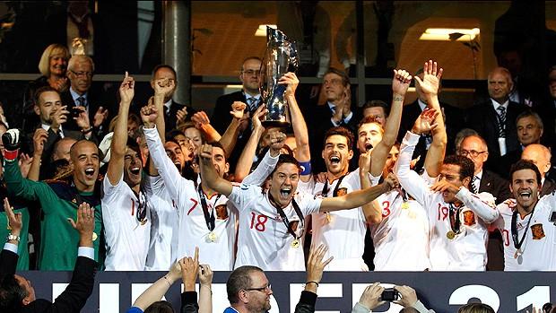 espanha campeã europa sub 21 (Foto: Agência Reuters)