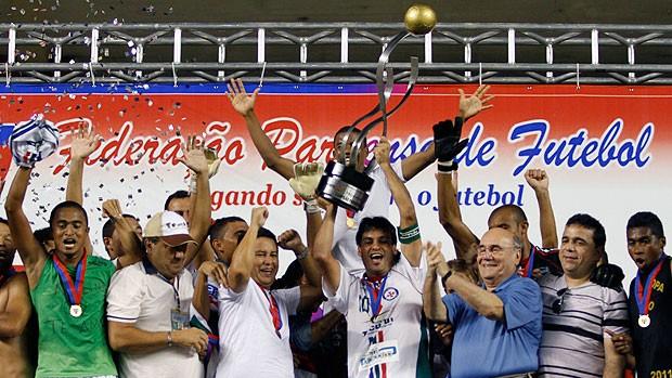 Independente do Tucurí comemora o Campeonato Paraense  (Foto: Ag. Estado)