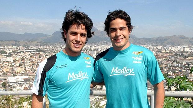 Xandinho Negrão e Marcos Gomes no Alemão (Foto: Miguel Costa Jr. / Stock Car)