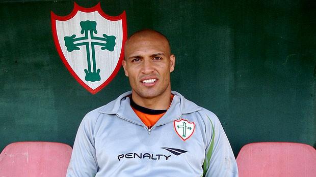 Edno da Portuguesa  (Foto: Renato Cury / Globoesporte.com)