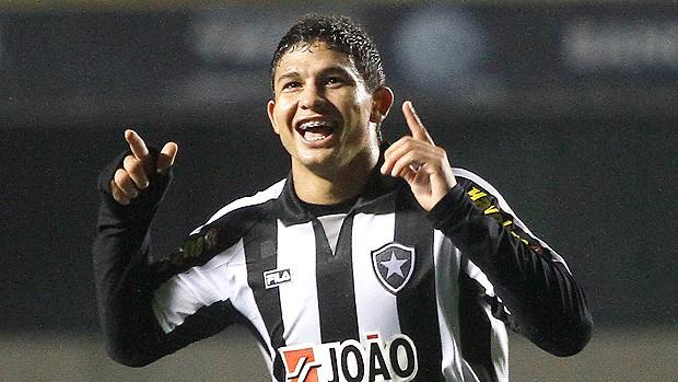 Elkeson gol Botafogo (Foto: Ag. Estado)