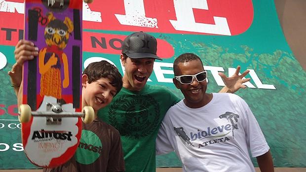 megarampa mitchie bob burnquist sergio negrão (Foto: Breno Dines / Globoesporte.com)